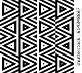 vector seamless pattern.... | Shutterstock .eps vector #614348867
