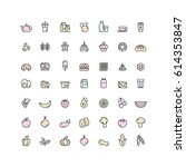 isolated vector style...   Shutterstock .eps vector #614353847