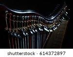 Harp Music. Irish Harp...