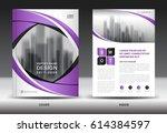 brochure template layout ... | Shutterstock .eps vector #614384597
