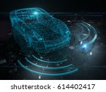 autonomous self drive vehicle   ...   Shutterstock . vector #614402417