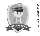 Black And White Traffic Office...