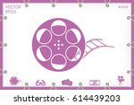 film reel icon vector eps 10 ...