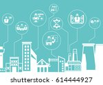 engineering and construction... | Shutterstock .eps vector #614444927