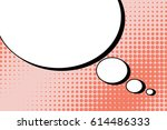abstract creative concept comic ... | Shutterstock .eps vector #614486333