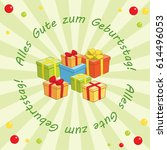 light green background   alles...   Shutterstock . vector #614496053