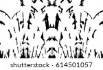 grunge black and white urban... | Shutterstock .eps vector #614501057
