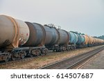 the train tanks with oil and