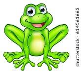 an illustration of a cute... | Shutterstock . vector #614561663
