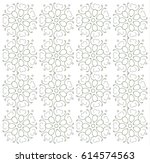 simple floral nature seamless...   Shutterstock .eps vector #614574563