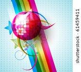 vector disco ball design...   Shutterstock .eps vector #61459411