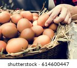 Fresh Chicken Rooster Eggs On...