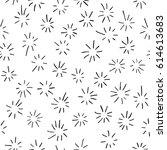 Hand Drawn Linear Starburst...