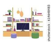 vector illustration. the... | Shutterstock .eps vector #614648483