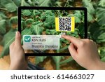smart agriculture  farm  ...   Shutterstock . vector #614663027