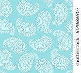 seamless pattern of beautiful... | Shutterstock .eps vector #614686907