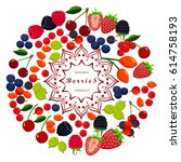 vector illustration logo... | Shutterstock .eps vector #614758193