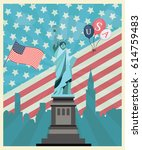 independence day | Shutterstock .eps vector #614759483