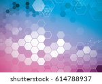 vector of abstract geometric... | Shutterstock .eps vector #614788937