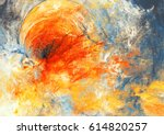 abstract sky with shiny color... | Shutterstock . vector #614820257
