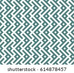 seamless cyan and white... | Shutterstock . vector #614878457