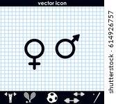 sex symbols.   Shutterstock .eps vector #614926757