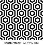 vector seamless pattern. modern ... | Shutterstock .eps vector #614942483