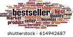 bestseller word cloud concept.... | Shutterstock .eps vector #614942687
