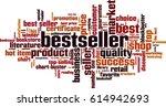 bestseller word cloud concept.... | Shutterstock .eps vector #614942693