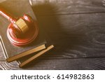 law. | Shutterstock . vector #614982863