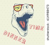 Dinner Time Of Cool Dinosaur...