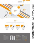modern vector website template...
