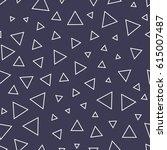 minimal graphic geometric... | Shutterstock .eps vector #615007487