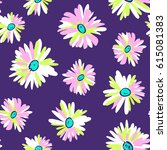 young daisy print   seamless...   Shutterstock .eps vector #615081383