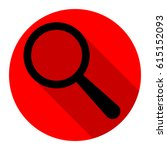 zoom in icon. vector. flat... | Shutterstock .eps vector #615152093