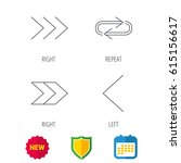 arrows icons. right direction ...