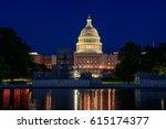 washington ds usa capitol | Shutterstock . vector #615174377