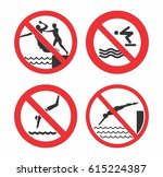 No Jump Sign Vector Design For...