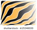 black and orange abstract... | Shutterstock .eps vector #615248333