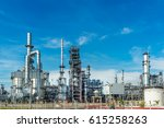 oil and gas industry refinery... | Shutterstock . vector #615258263
