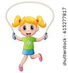 vector illustration of cartoon... | Shutterstock .eps vector #615277817