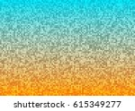 abstract bright mosaic gradient ...   Shutterstock . vector #615349277