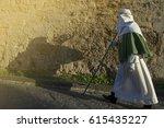 enna  sicily  italy   march 25  ... | Shutterstock . vector #615435227