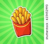 vector illustration. french... | Shutterstock .eps vector #615452993