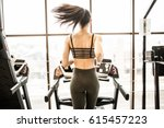 horizontal shot of woman... | Shutterstock . vector #615457223