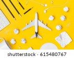Travel Planning. Airplane ...