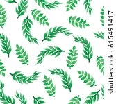 seamless pattern with... | Shutterstock . vector #615491417