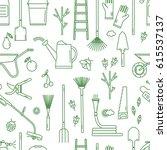 Seamless Pattern With Garden...