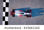 racer of formula 1 in a racing... | Shutterstock . vector #615661163