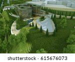 3d rendering and design ... | Shutterstock . vector #615676073